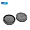 JJC L-R6 AF Mount Front Body and Rear Lens Cap Cover for Sony Alpha A77 A99